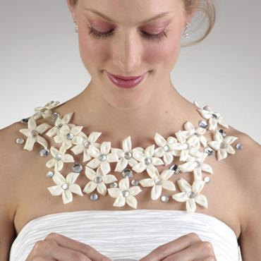 Stephanotis and Jewel Body Flowers
