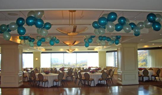 Balloon Ceiling Clusters
