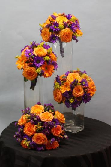 Vivid Autumn Bouquets