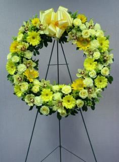 Warm Condolences Wreath