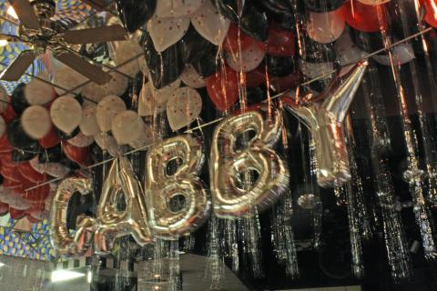 Gabby Balloon Letters