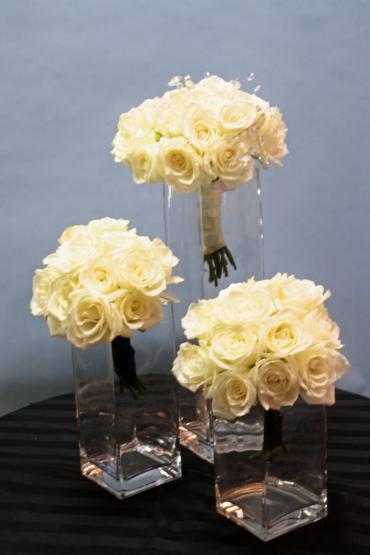 Just Roses White Bouquets