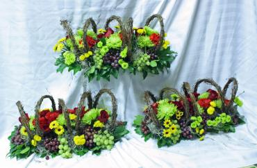 Harvest grape centerpiece