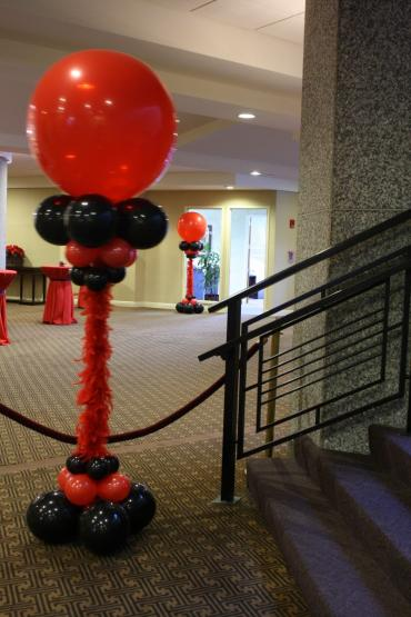 feather boa club columns