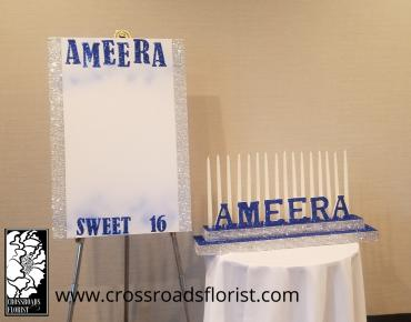 Ameera sign in board