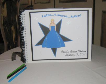 Marie\'s sign in book