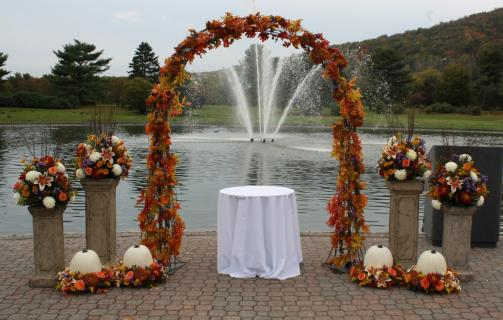 Autumn Wedding Arch