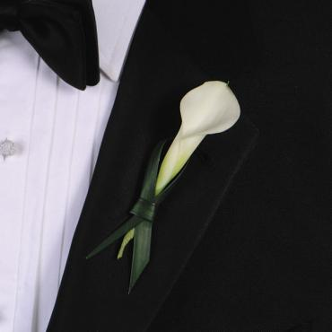 Tying The Knot Boutonniere