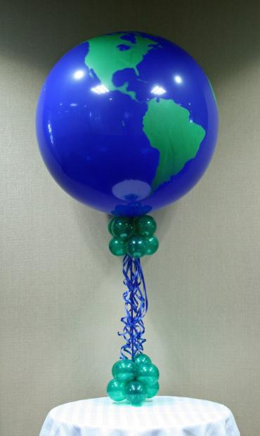 The world on a string