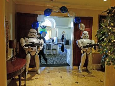 Starwars Entrance (Storm Troopers)