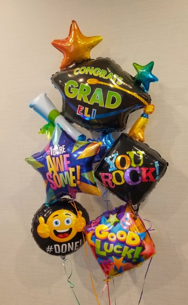 Graduation Cap Personalized Bouquet