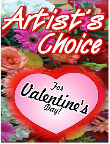 Artist\'s Choice for Valentines Day