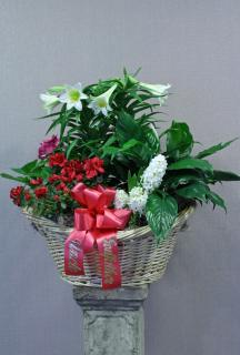 sweet memories planter basket