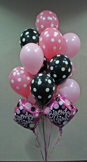 Birthday Girl Balloon Bouquet