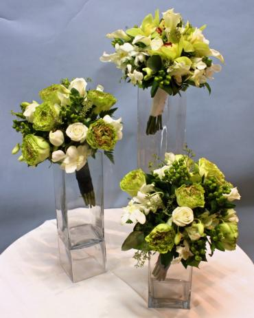 Shades of Green Bouquets