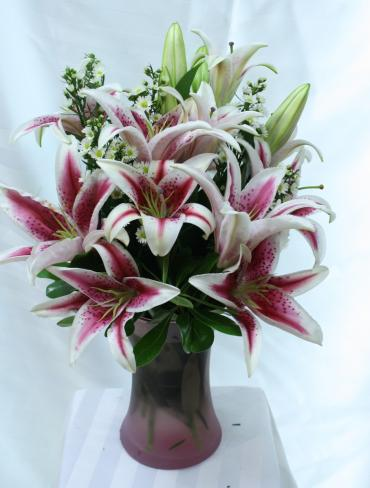 Lovely Lush Lilies
