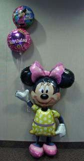 Minnie Airwalker Birthday Bouquet