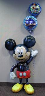 Mickey Airwalker Balloon Bouquet
