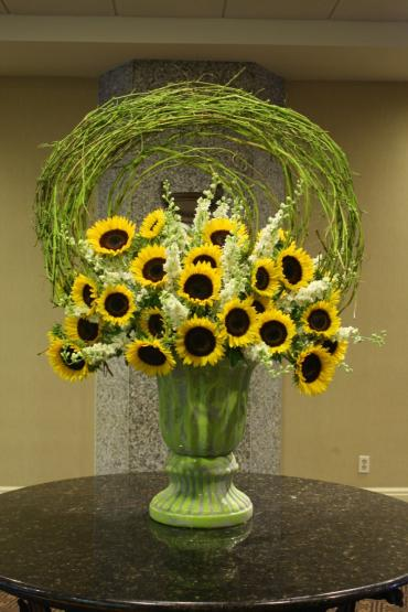 Stately Sunflowers