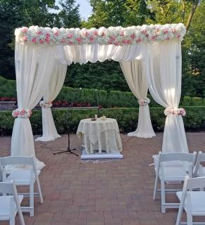 Flower Topped Chuppah